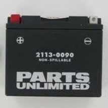 Parts Unlimited AGM (Maintenance-Free) Battery for 1100 Monster 09-11