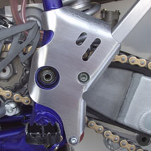 Works Connection Frame Guards for WR450F 04-06