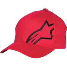 Alpinestars Corp Shift 2 Flexfit Hat Red/Black