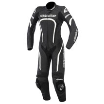 Alpinestars Women's Stella Motegi Leather Suit Black/White