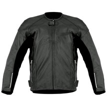 Alpinestars Men's TZ-1 Reload Perforated Leather Jacket Black (Closeout)