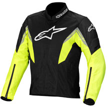 Alpinestars Men's Viper Air Textile Jacket Black/Yellow-Fluo/White