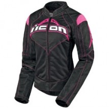 Icon Women's Contra Jacket Black/Pink