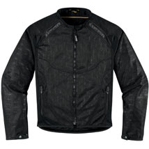 Icon Women's Anthem Mesh Jacket Black