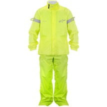 Alpinestars Quick Seal Out Jacket and Pants Yellow-Fluo (Closeout)