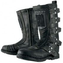 Icon Men's 1000 Elsinore Boots Johnny-Black