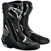 Alpinestars Men's SMX Plus Boots Black-Vented