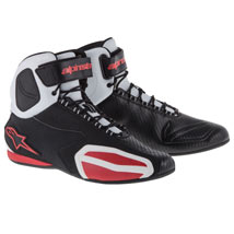 Alpinestars Men's Faster Shoes Black/White/Red