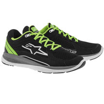 Alpinestars Men's 100 Running Shoes Black/Green