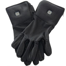 Venture Battery Powered Heated Gloves Liner Black