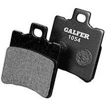 Galfer Semi Metallic Rear Brake Pads for Daytona 675R 13