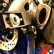 Shogun Swingarm Spools for GSX1300R Hayabusa 99-14