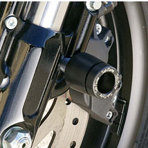 Sato Racing Fork Bottom Sliders for Sportster XR1200 09-13