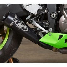 M4 GP Series Slip-On Exhaust for Kawasaki ZX6R 13-17