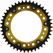 Supersprox Stealth Gold 520 Rear Sprocket for F650GS 00-09