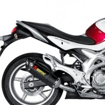 Akrapovic Slip-On Exhaust for Gladius 650 09-15