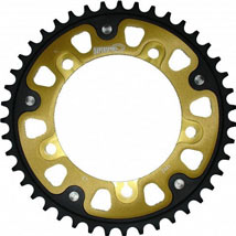 Supersprox Stealth Gold 525 Rear Sprocket for 800 America 01-06
