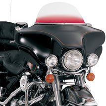 """Memphis Shades Replacement Bagger 9"""" Windshields for FLHTK 96-12"""