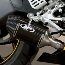 M4 Street Slayer Slip-On Exhaust for YZF-R6 06-16