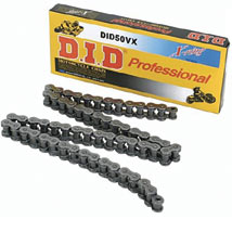 DID 520 Pro Street X-Ring VX2 Series Chain