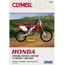 Clymer Manual for CRF450R 02-05