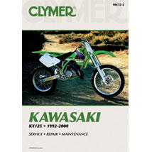 Clymer Manual for KX125 92-00