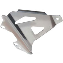 Works Connection Radiator Braces for KX450F 06-08