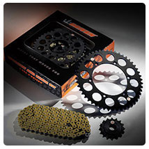 Driven Chain and Sprocket Kit for CR500R 92-01