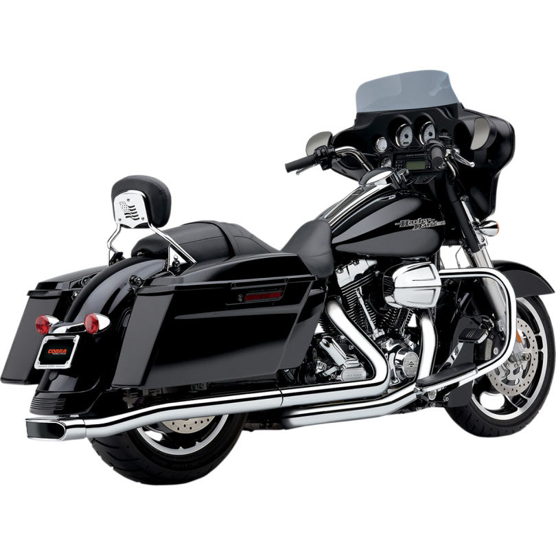 Cobra Centerpro Slipon Exhaust For Flt 9515 Closeout: Motorcycle Exhaust Closeout At Woreks.co