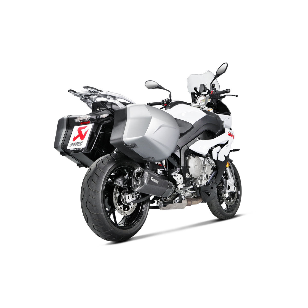 akrapovic slip on exhaust for s1000xr 15 18. Black Bedroom Furniture Sets. Home Design Ideas