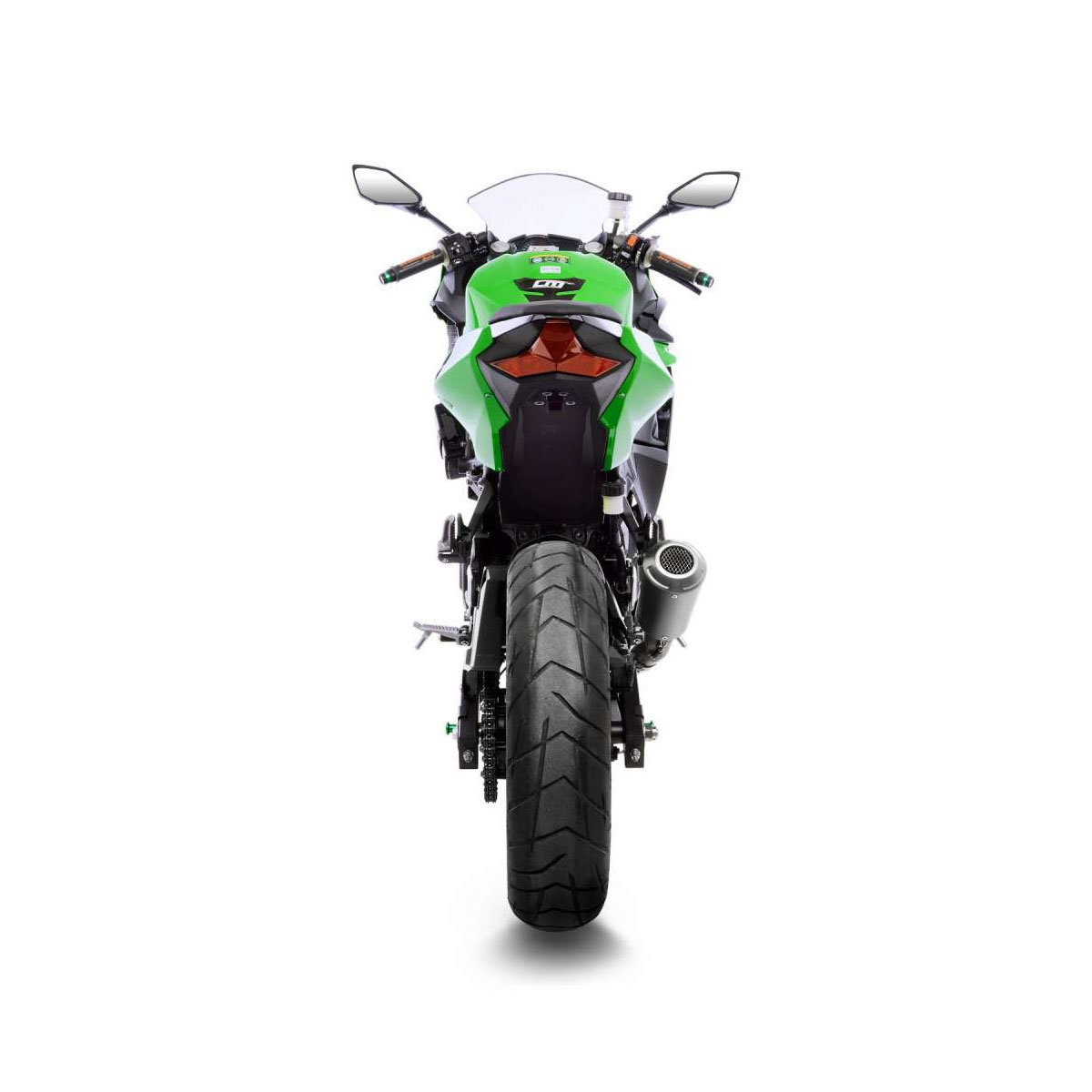 Motors Other Motorcycle Exhausts Exhaust Systems Kawasaki Ninja 400 2018 2019 Leovince Lv 10 Race Exhaust Black Edition In Stock