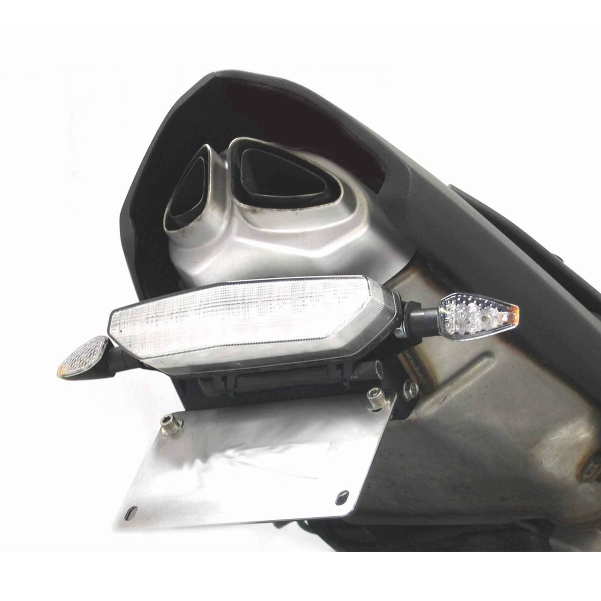 Dmp Powergrid Tail Light For Zx6r 07 08 Wiring Harness Clear