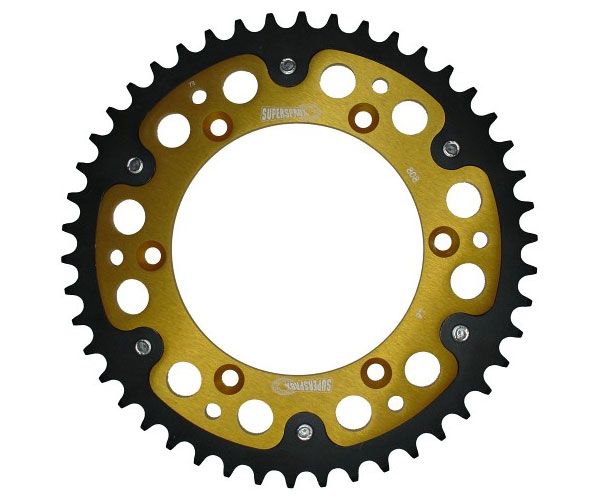 Suitable for 520 chain Fit for Suzukimoto DR-Z400SM 2005-2013 2006 2007 2008 2009 2010 2011 2012 Smadmoto Motorcycle 39 Teeth Steel Rear Sprocket
