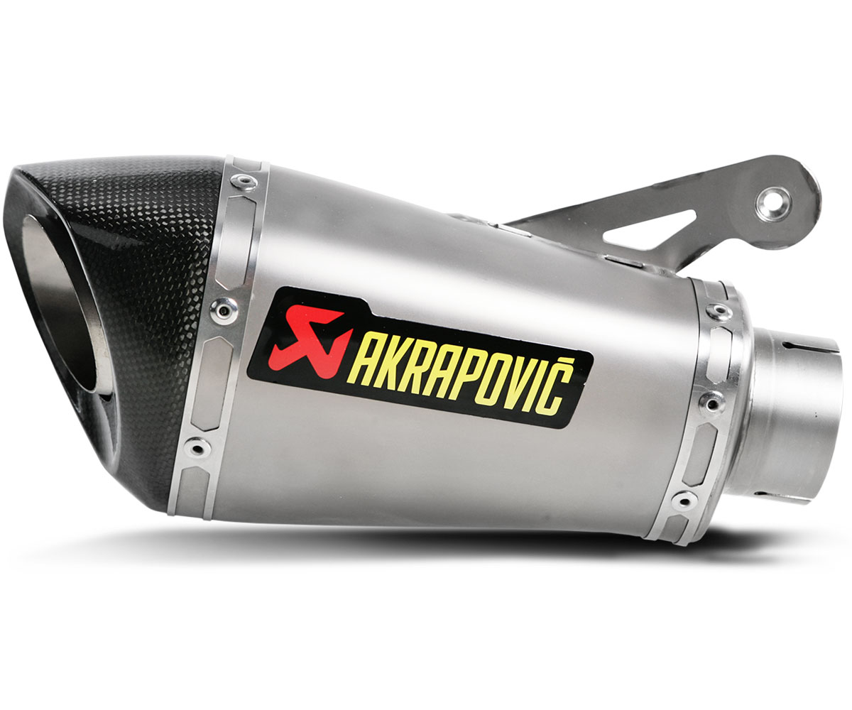 akrapovic slip on exhaust for s1000r 15 16. Black Bedroom Furniture Sets. Home Design Ideas