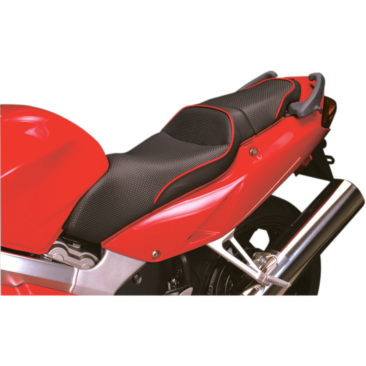 Seat w/ Red Accent Welts