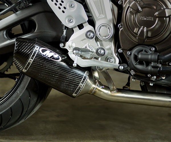 M4 Slip-On Exhaust for Yamaha FZ-07 15-18