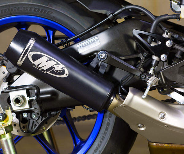 M4 GP2 Slip-On Exhaust for YZF-R1 15-19