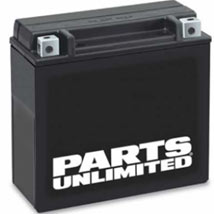 Parts Unlimited AGM (Maintenance-Free) Battery for KLE650 Versys 08-13