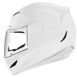 Icon Airmada Gloss Helmet Solid White