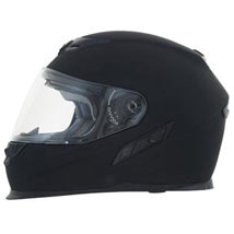 AFX FX-120 Solid Full Face Air Bladder Helmet Flat-Black