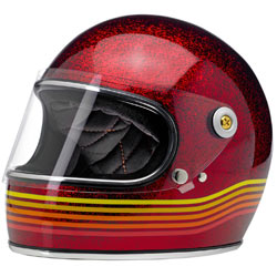 Biltwell Gringo S LE Spectrum Helmet Wine-Red (Closeout)