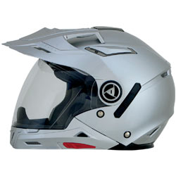AFX FX-55 7 In 1 Helmet Solid-Silver (Closeout)