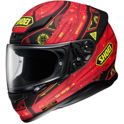 Shoei Vessel RF-1200 Helmet TC-1-Black/Red/Yellow (Closeout)