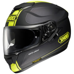 Shoei Wanderer GT-Air Helmet TC-3-Black/Yellow (Closeout)
