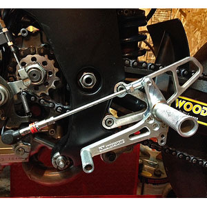 Woodcraft (Complete) Rearset Kit for SV650S 99-02