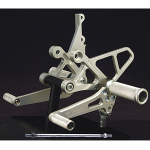 Woodcraft (Complete) Rearset Kit for GSX-R1000 01-04