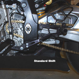 Woodcraft Rearset Kit (Race Only) for S1000RR 09-14