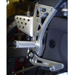 Woodcraft (Complete) Rearset Kit for XB9 94-10