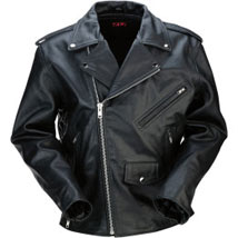 Z1R Women's Leather 9MM Jacket Black (Closeout)