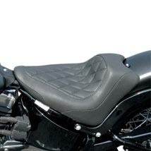 Mustang Seats Wide Tripper Solo Front Seat (Diamond Stitch) for FLS 12-13